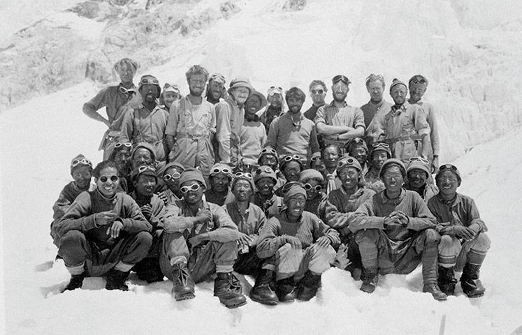 The 1953 Mount Everest team